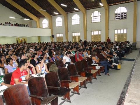 Abertura do Congresso Nordestino de Biólogos - Congrebio 2010.