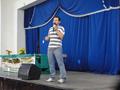 """Biólogo Rômulo Romeu da Nóbrega Alves proferindo a palestra """"Uso e Conservação de Fauna em Áreas de Caatinga no Semiárido Paraibano""""."""