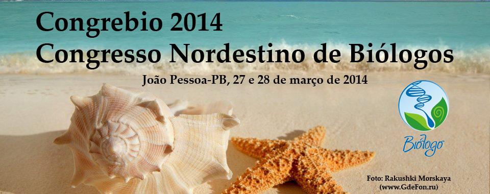 Congresso Nordestino de Biologos - Congrebio 2014