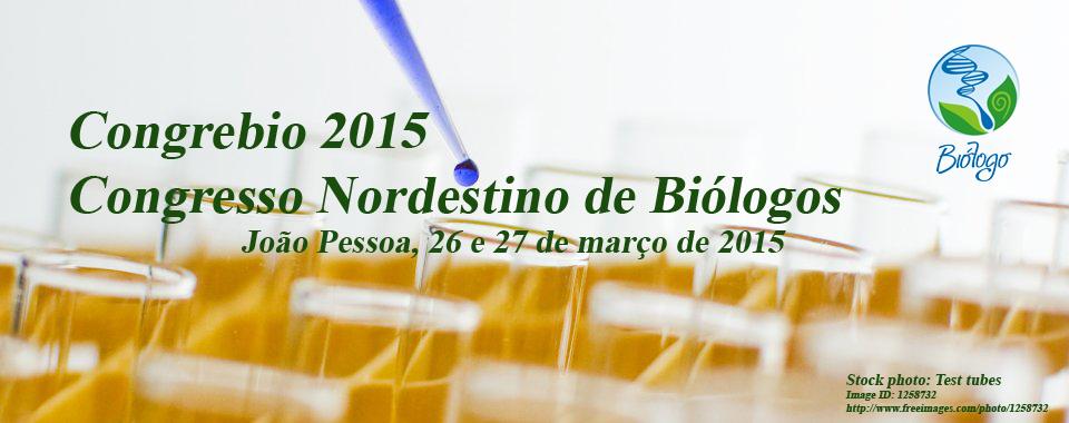 Congresso Nordestino de Biologos - Congrebio 2015
